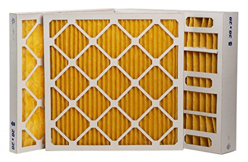 "18 x 18 x 1"" MERV 11 Pleated Furnace Filters - 12 Pack"