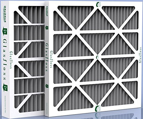 "Santa Fe Advance 2 Dehumidifier Carbon Odor Control 14 x 17.5 x 2"" Filters - 12 Pack"