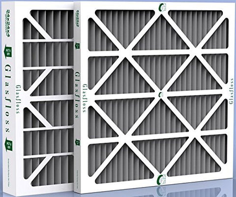 "SaniDry CX Dehumidifier Carbon Odor Control Filters 15 3/4 x 10 1/4 x 1"" - 12 Pack"