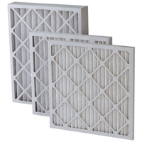 "16 x 25 x 2"" MERV 8 Pleated Furnace Filters - 12 pack"