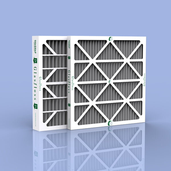 "24 x 24 x 1"" Carbon Pleated Furnace Filter - 12 pack"