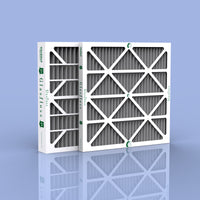"20 x 25 x 2"" Carbon Pleated Furnace Filter - 12 pack"