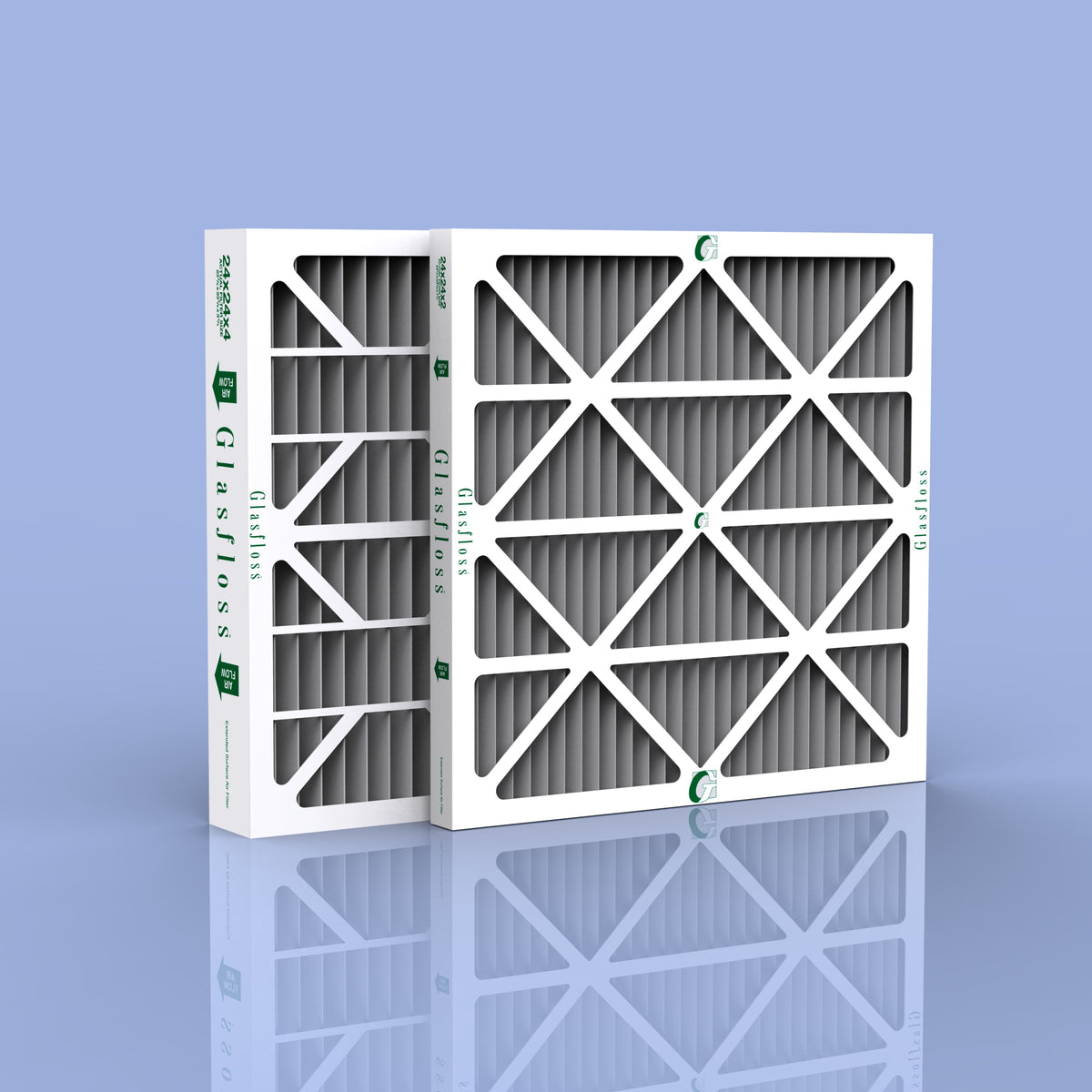 12 X 24 X 2 Quot Carbon Pleat Odor Control Furnace Filters