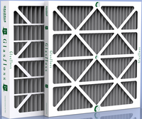 "20 x 20 x 1"" Carbon Pleated Furnace Filter - 12 pack"