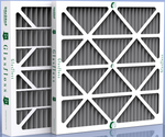 "25 x 29 x 4"" Carbon Odor Control Furnace Filter - 6 pack"
