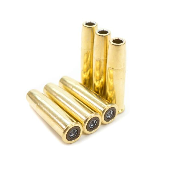 Pellet Cartridges for Barra Airguns Schofield No.3 Revolver - Pack of 6 Shells for Standard .177 Caliber Pellets