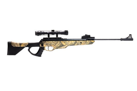 Bear River TPR 1200 Hunting Air Rifle - .177 Airgun - Pellet Gun with Scope Included - Camo - Refurbished