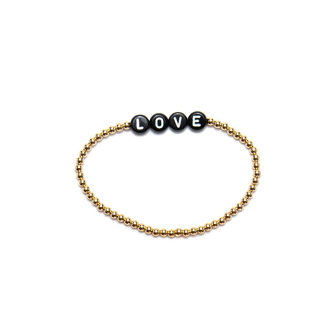 14k Yellow Gold Filled Bracelet with Name or Initials