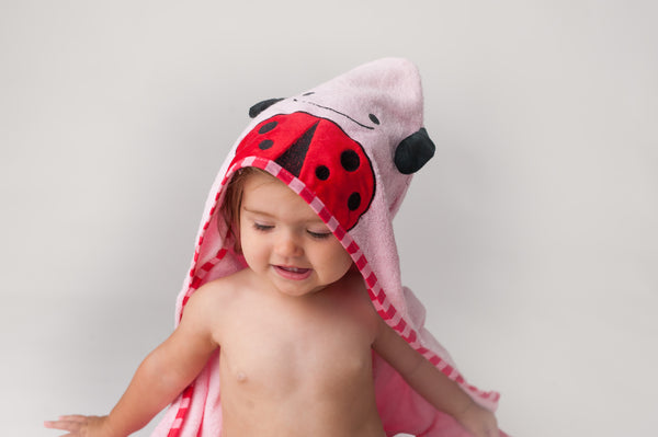 Beetle Hooded Towel