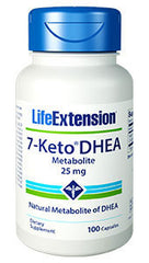 7-KETO DHEA Metabolite 25 mg 100 caps