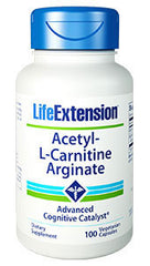 Acetyl L-Carnitine Arginate 90 vcaps