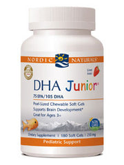 DHA Junior - Strawberry 180 gel caps