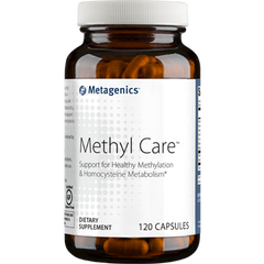 Methyl Care 120 Capsules (Formerly: Vessel Care)