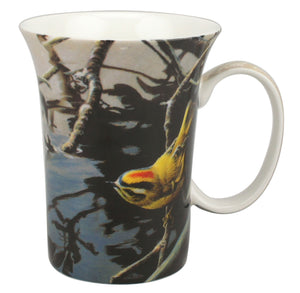 Bateman Golden Crowned Kinglet and Rhodo Crest Mug - McIntosh Shop - 2
