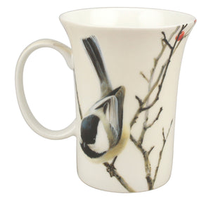 Bateman Lively Pair - Chickadees Crest Mug - McIntosh Shop - 3