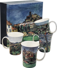 Load image into Gallery viewer, Cezanne set of 4 Mugs