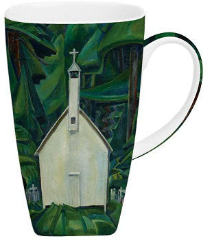 Carr Indian Church Grande Mug - McIntosh Shop - 1