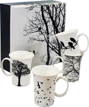 Load image into Gallery viewer, Eternal Silhouette Set of 4 Mugs
