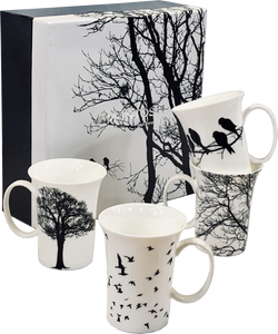 Eternal Silhouette Set of 4 Mugs
