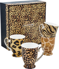 Load image into Gallery viewer, Go Wild set of 4 Mugs