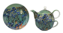 Load image into Gallery viewer, Van Gogh Irises Tea for One - McIntosh Shop - 1