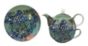 Van Gogh Irises Tea for One - McIntosh Shop - 1