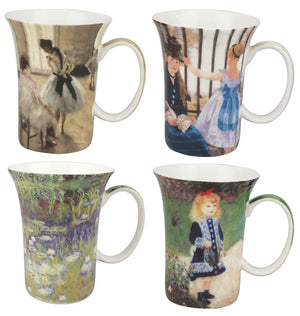 Impressionists set of 4 Mugs - McIntosh Shop - 1