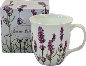 Garden Collection Lavender Java Mug