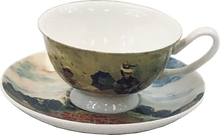 Load image into Gallery viewer, Monet Poppies Cup & Saucer