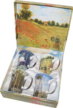 Load image into Gallery viewer, Monet set of 4 Mugs