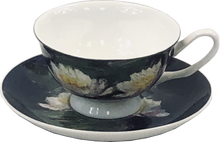 Load image into Gallery viewer, Monet Water Lilies Cup & Saucer