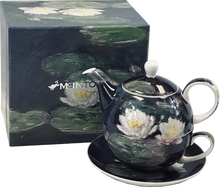 Load image into Gallery viewer, Monet Water Lilies Tea for One