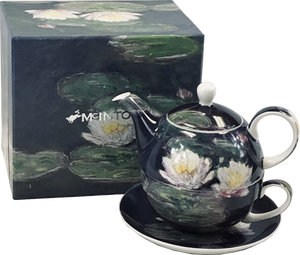 Monet Water Lilies Tea for One