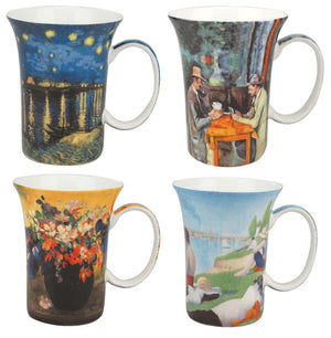 Post-Impressionists set of 4 Mugs - McIntosh Shop - 1