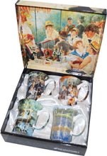 Load image into Gallery viewer, Renoir set of 4 Mugs