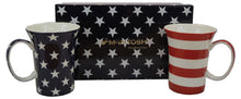Load image into Gallery viewer, Stars & Stripes Mug Pair