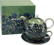 Load image into Gallery viewer, Van Gogh Irises Tea for One