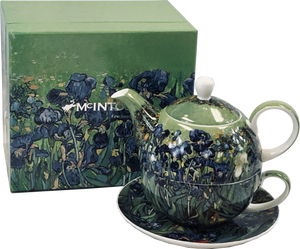 Van Gogh Irises Tea for One