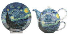 Load image into Gallery viewer, Van Gogh Starry Night Tea for One - McIntosh Shop - 1