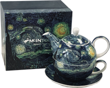 Load image into Gallery viewer, Van Gogh Starry Night Tea for One