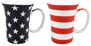 Stars & Stripes Mug Pair - McIntosh Shop - 1