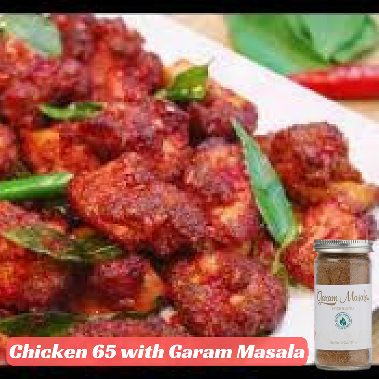 Chicken 65 with Garam Masala