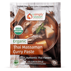 Organic Thai Massaman Curry Pastes - USimplySeason