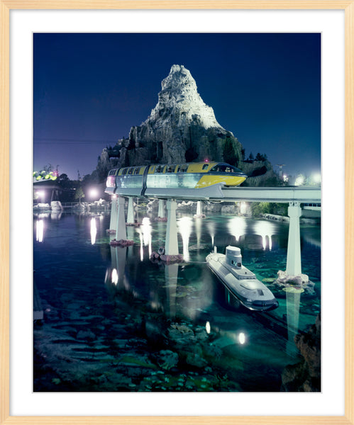 Disneyland Matterhorn, Monorail and Submarine