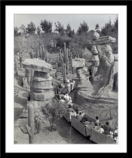 Disneyland Mine Train - Balancing Rock Canyon