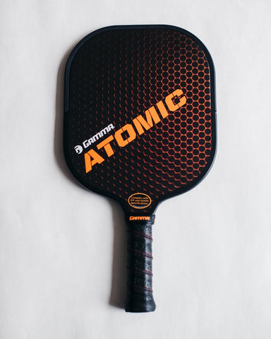 GAMMA Atomic pickleball paddle product shot.