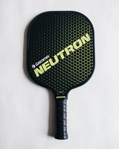 GAMMA Neutron pickleball paddle product shot.
