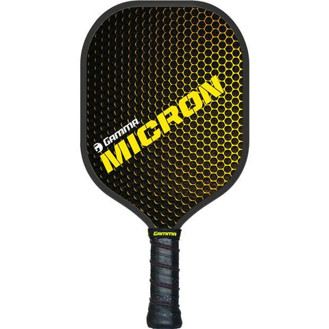 Micron Pickleball Paddle: Mid-weight paddle gives players more time to control the ball!