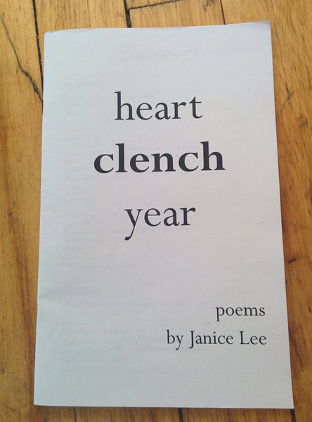 Heart Clench Year by Janice Lee