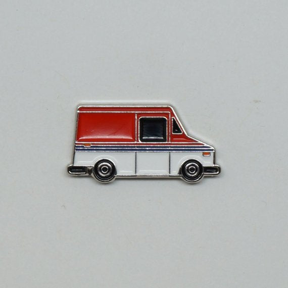 Bearface by BRFC Enamel Pin - 1987 Grumman LLV - Canada Post